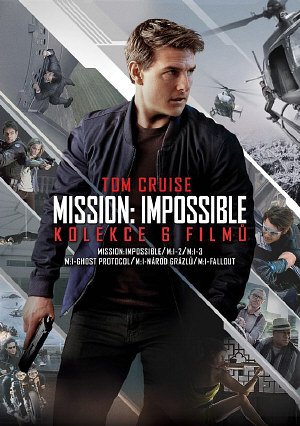 Mission: Impossible kolekce 1.-6. 6DVD